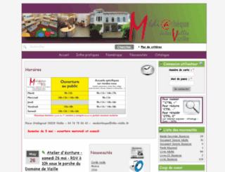 mail.ville-vizille.fr screenshot