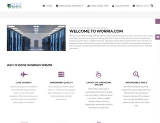 mail.worria.com screenshot
