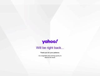 mail.zahoo.com screenshot