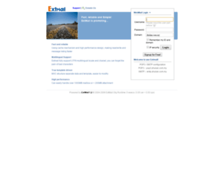 mail.zhulian.com.my screenshot