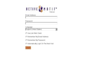 mail1.activemotif.com screenshot