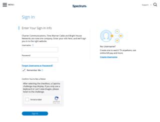 mail2.charter.net screenshot