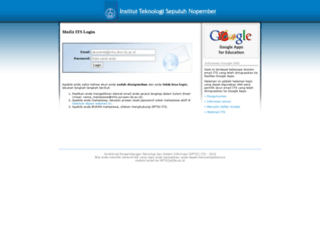 mail2.its.ac.id screenshot