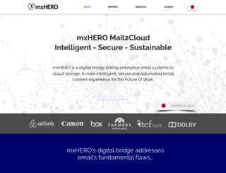 mail2cloud.io screenshot