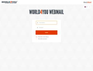 mail8.world4you.com screenshot