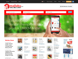mailaku.com screenshot