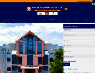 mailamengg.com screenshot