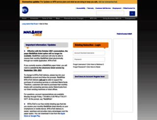 mailandride.com screenshot