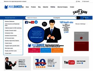 mailbanger.com screenshot