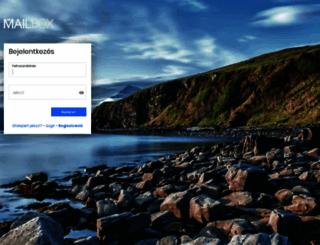 mailbox.hu screenshot