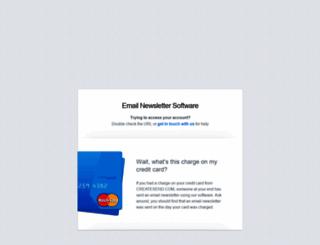 mailburst.createsend.com screenshot