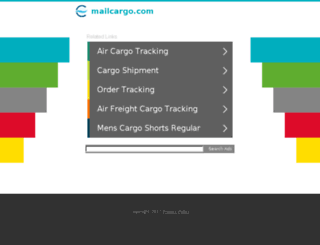 mailcargo.com screenshot