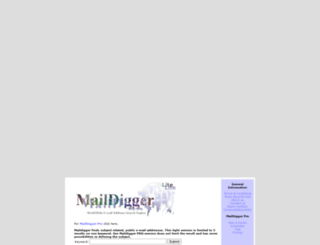 maildigger.com screenshot