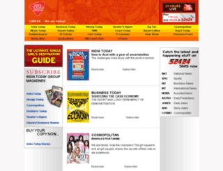 mailer.indiatodaygroup.com screenshot