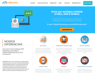 mailerweb.com.br screenshot