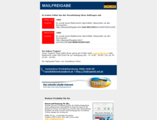 mailfreigabe.vol.at screenshot