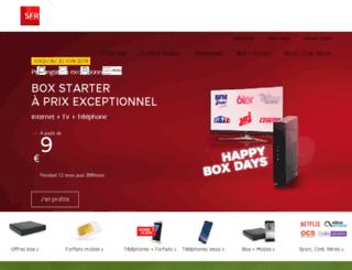 mailing.contact-sfr.com screenshot