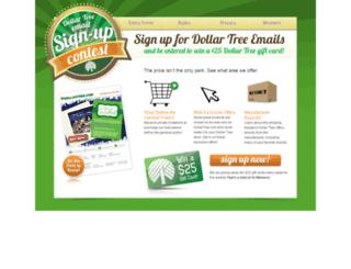 mailing.dollartree.com screenshot