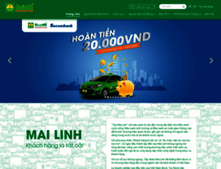 mailinh.vn screenshot