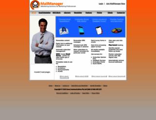 mailmanager.com.au screenshot