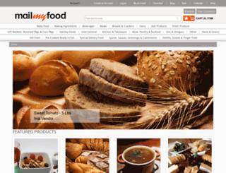 mailmyfood.com screenshot