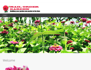 mailordergarden.com screenshot