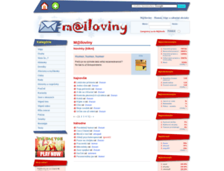 mailoviny.sk screenshot