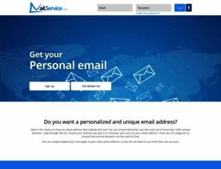 mailservice.com screenshot