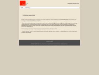 mailsnare.net screenshot
