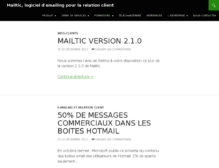 mailtic.fr screenshot