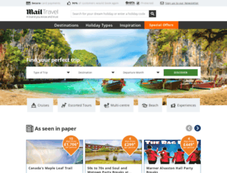 mailtravel.co.uk screenshot