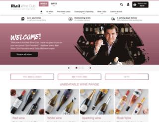 mailwineclub.co.uk screenshot