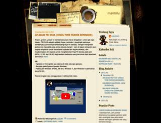 maimilu.blogspot.com screenshot