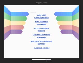 main.ergpc.com screenshot