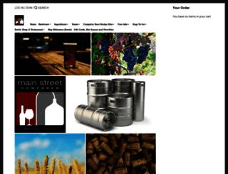 mainbrew.com screenshot