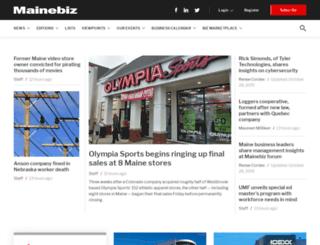 mainebiz.biz screenshot