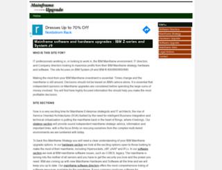 mainframe-upgrade.com screenshot
