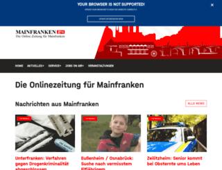 mainfranken24.de screenshot