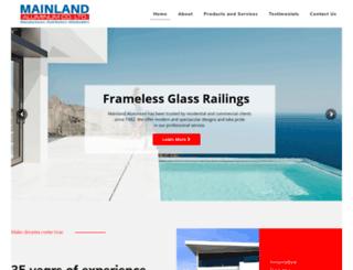 mainlandaluminum.com screenshot