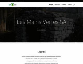 mains-vertes.ch screenshot
