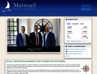 mainsailwealthadvisors.com screenshot