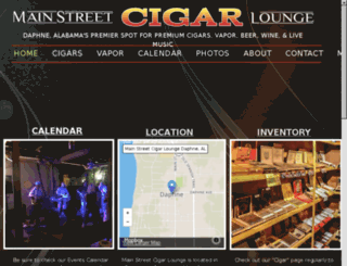 mainstcigars.com screenshot
