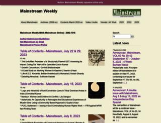 mainstreamweekly.net screenshot