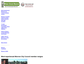 mainstreetmonroe.com screenshot