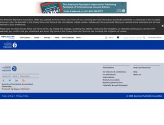 maint.psychiatryonline.org screenshot