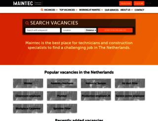 maintec.net screenshot