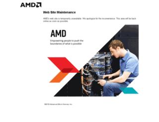 maintenance.amd.com screenshot