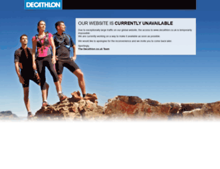 maintenance.decathlon.co.uk screenshot