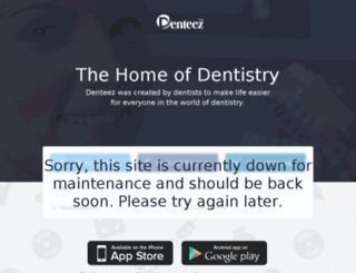 maintenance.denteez.com screenshot