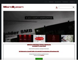 maintsystemsrl.com screenshot